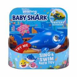 Robo Alive Baby Shark Daddy Blå