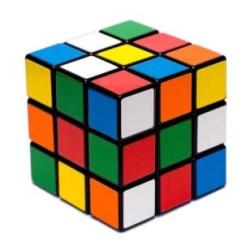 Rubiks Kub 3x3 multifärg