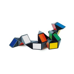 Rubiks Kub Twist Ormen multifärg