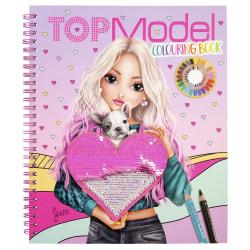 TOPModel Designbok med paljetter