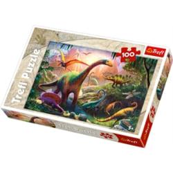 Trefl Dinosaruier 100 bitar pussel 16277