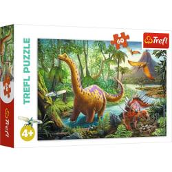 Trefl Dinosaurier Pussel 60 bitar 17319