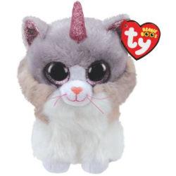 TY Beanie Boos M ASHER Katt med horn