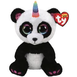 TY Beanie Boos M PARIS Panda med horn