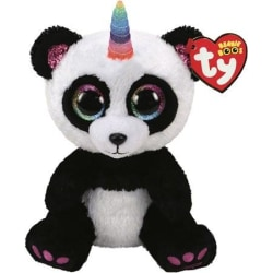 TY Beanie Boos PARIS Panda med horn reg
