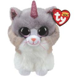 TY Beanie Boos reg ASHER Katt med horn