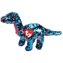 TY Flippables TREMOR Dinosaurie reg
