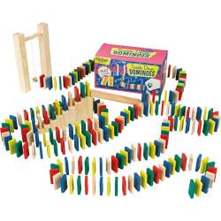Dominobana med hinder