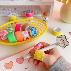 2Pcs Bandage Anti-cocoon Finger Cots Writing Finger Protective random 2pcs