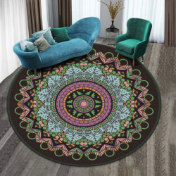 3D Carpet Geometric Magic Hole Design Floor Carpet Mat 80*80cm e 80 80cm