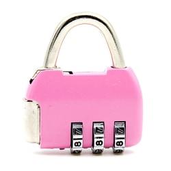 4 Dial Digit Password Lock Combination Suitcase Luggage p