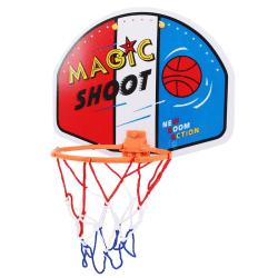 Adjustable Indoor Hanging Basketball Backboard Rim a