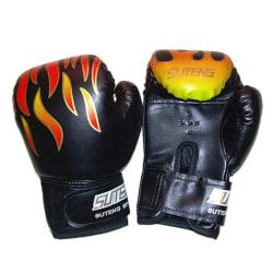 Boxningshandskar för vuxna Professionell träningshandske PU-läder