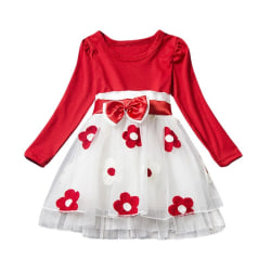 Autumn Girl Dress red 12M