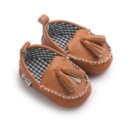 Baby Shoes Princess First Walkers Girl Sneaker Tassel Pendant brown 0-6 months