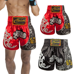Boxing Shorts Clothes Boxing Trousers Print Shorts blue XXL