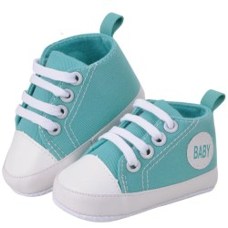Boy&Girl Shoes Sneakers Baby Infantil Soft Bottom First Walkers green 6-12 months