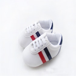 Boys Girls Soft Shoes Anti-slip Shoes First Walker 0-12M white s