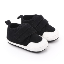 Breathable Baby Shoes Toddler Flowers Solid Shoe Girls black 12
