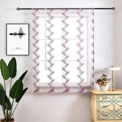 Burnout Roman Pastoral Curtains Balloon Window Curtain z 1.4*2.6
