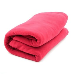 Camp Fleece Sleeping Bags Portable Ultra-light Polar Sleeping red