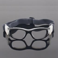 Children Adjust Sport Glasses Windproof Dust-proof Safety Goggle black