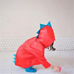 Barn Raincoat Kindergarten Baby Poncho Rain Gear hushåll