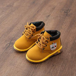 Children Shoes PU Leather Baby Girl Shoes Boots Shoes
