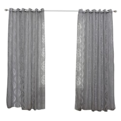 European Style Cut Flower Screens Living Room Jacquard Curtain ah