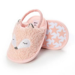 Fashion Baby Summer Slippers Soft Sole Anti-Slip Indoor Shoes Pink S