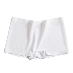 Fitness Shorts Dam Ice silk sömlös hög midja underkläder