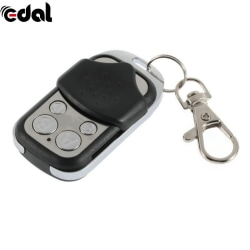 Fixed Code Key Fobs Garage Door Electric Cloning Remote Control Black