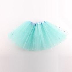 Girl Kid Tutu Skirt Party Skirt Ballet Dancewear Pettiskirt light blue
