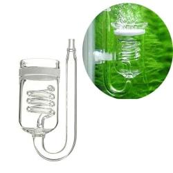 Glass Aquarium CO2 Diffuser Glass Atomizer Solenoid Regulator white