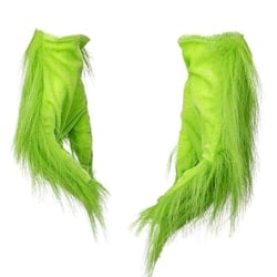 Glove Christmas Halloween Deluxe Party Cosplay Props green