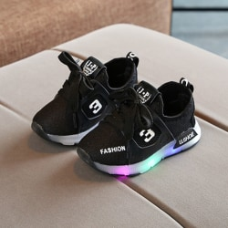 Glow Baby Shoes Fashion LED Baby Girl Shoes Sports