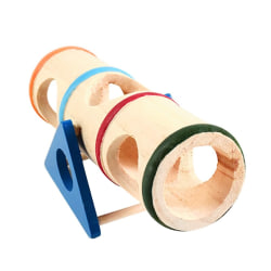 Hamster Toys Upturned Bucket Hamster Seesaw Tunnel Tube as show