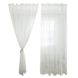 Hotel Curtains, Finished Lace Lace Household Curtains white