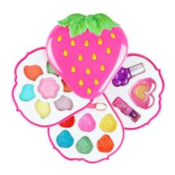 Kids MakeUp Toy Set Låtsas Prinsessan Makeup Säkerhet Non-toxi