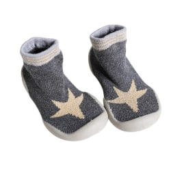 Kids Shoes Girl Boys Indoor Shoes Funny Cartoon Print Sock Shoe A 23