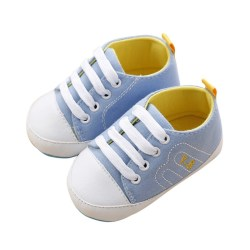 Kids Shoes Sneakers Sapato Baby Infantil Bebe First Walkers Baby sky blue l