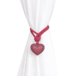 Love Heart Resin Curtain Tie Back Drapery Rope jr