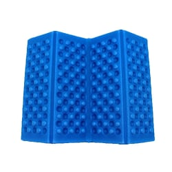 Mat Soft Waterproof Cushion Seat Pad Outdoor Folding blue