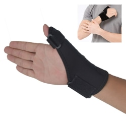 Medical Sports Wrist Thumb Hands Spica Splint Support Brace Black