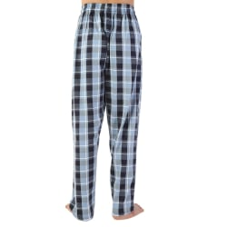 Men Check Cotton Pajama Pants Pajama Pants Couples Pajama Pants blue M