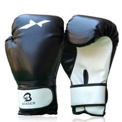 Herr Kvinnor PU läder boxhandskar Punching Mitten Muay