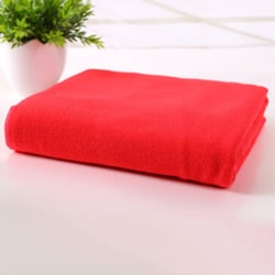 Microfiber Dry Fast Absorbent Soft Towel Travel Camping Sport red