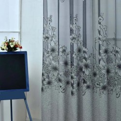 Multi-Styles Sheer Voile Curtains Beads Door Window Curtains picture show