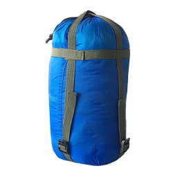 Outdoor Sleeping Bag Compression Clothing Sundries Storage Bag sky blue