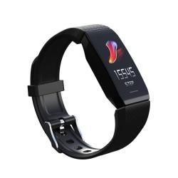 Q1plus Smart Band Waterproof Wristbands Fitness Tracker Unisex black